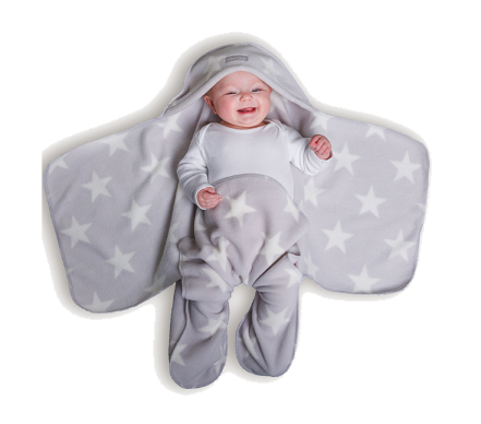 Nod Pod Baby Blue Blanket